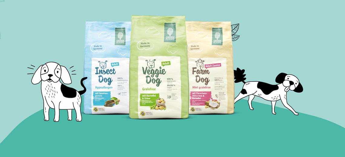 Green Petfood - nachhaltiges Hunde- und Katzenfutter in Premium-Qualität