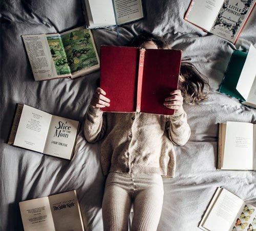 Bücher statt Fernseher