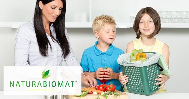 Naturabiomat kompostierbare Produkte
