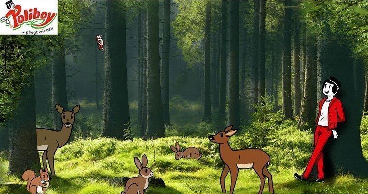 Poliboy Danke Wald Kampagne