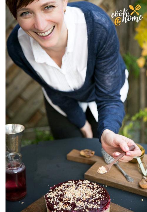 Regina Flieder: Gesund kochen ist ihre Leidenschaft