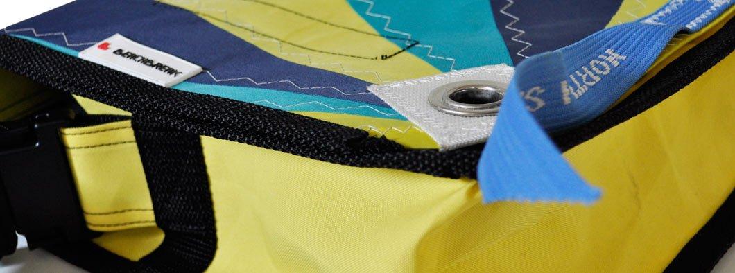 Recycelte Taschen aus Segeltuch, von Trendbuster
