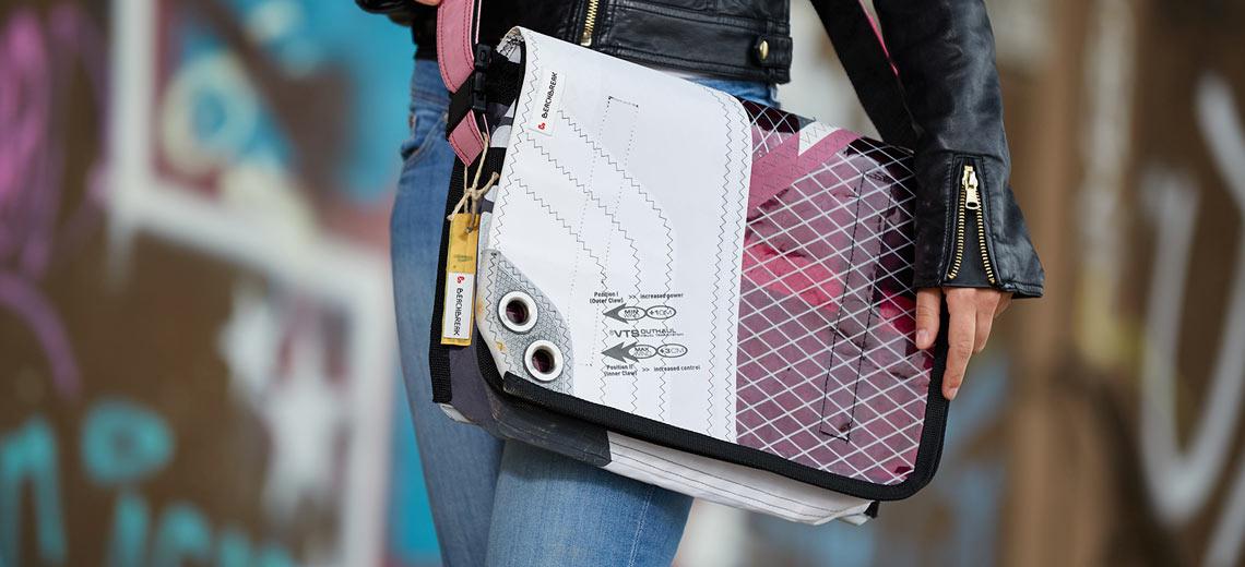 Trendbuster Taschen, hergestellt aus alten Segeln | Kristina Schradi