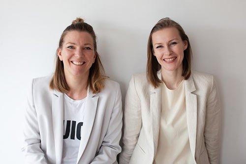 Susanne Kinast und Julia Ickert