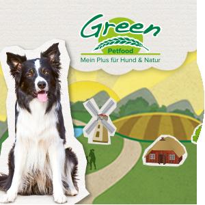 Green Petfood: Mein Plus für Hund & Natur