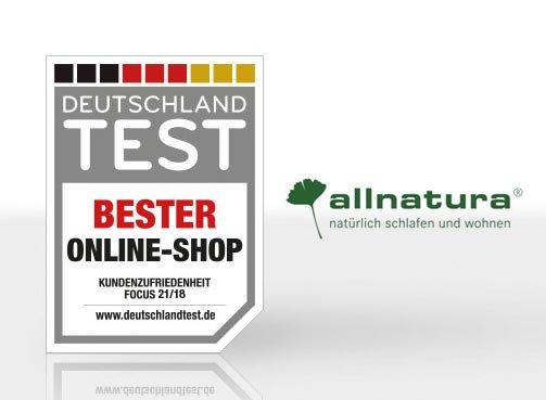 allnatura Bester Online-Shop Deutschland Test