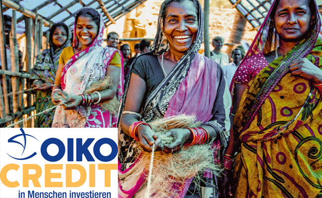 Oiko Kredit - Menschen bei kreativen Ideen unterstützen