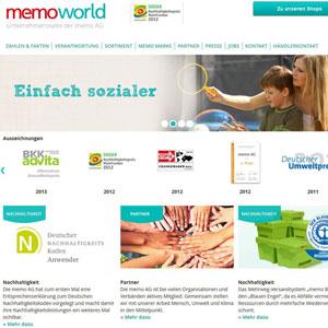 Memo, nachhaltig einkaufen